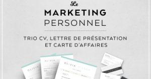 marketing personnel cv emploi