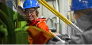 les femmes dans le secteur des mines