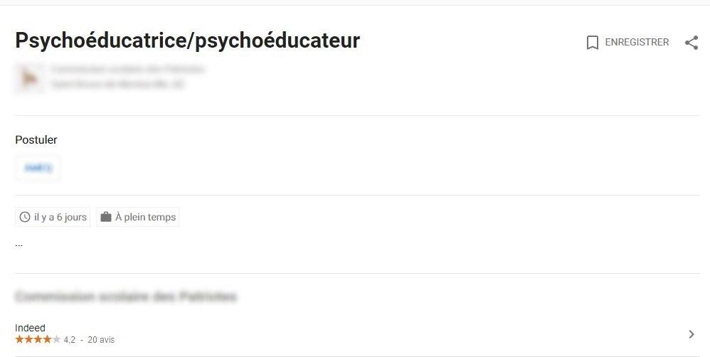 Comment Publier Une Offre D Emploi Sur Google Jobillico Com