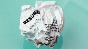 10 Signs of A Weak Resume