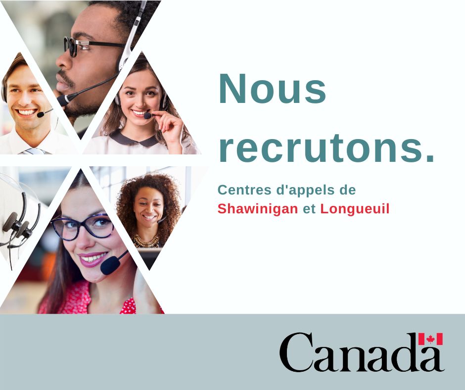 Sessions d'information: Service Canada embauche!