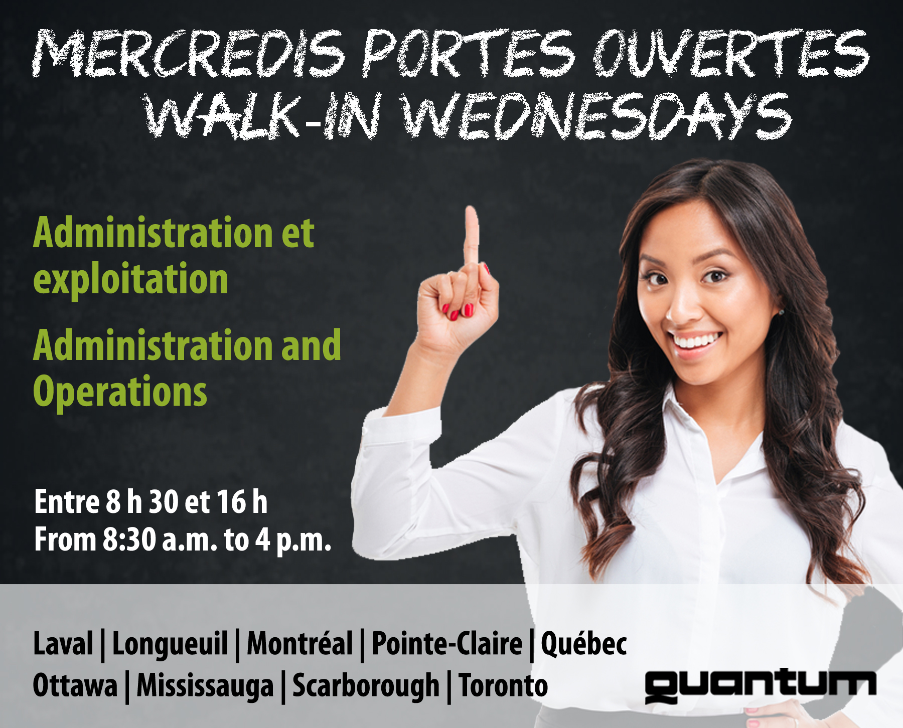 WALK-IN WEDNESDAYS!